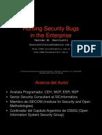 Cazando Bugs de Seguridad en Enterprise