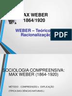 Aula 7- Max Weber