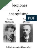 Elecciones y anarquismo