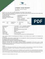 Garuda ETicket (QBHDWD) - Abudi