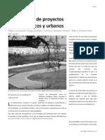 El Desarrollo de Proyectos Arquitectónicos y Urbanos