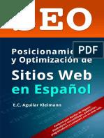SEO Posicionamiento y Optimización de Sitios Web en Español - Eddie Aguilar Kleimann