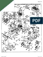Tecumseh Model Hm80 155438p Parts List