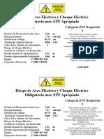 Etiquetas de Riego Electrico