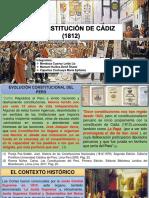 La Constitucion de Cadíz (1812)