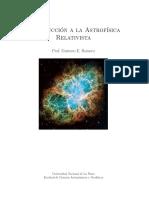 Romero - Introducción a La Astrofísica Relativista