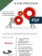 Diapositivas - Gestion Por Procesos