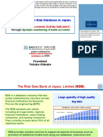 Role of the Credit Risk Database in Japan