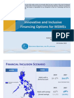 Innovative and Inclusive Financing Options for Micro-, Small- and Medium- Enterprises (MSMEs)