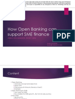 How open banking can support SME finance