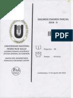 Examen Centro Pre II 2018- 2