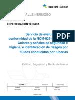 Servicio evaluación NOM-026-STPS-2008