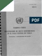 Naciones Unidas Investigacion