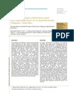 Calidad Bacteriológica y Fisicoquímica Del Agua Del Metodos
