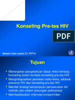 PPT13 Konseling Pra Tes HIV