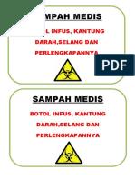 SAMPAH MEDIS ALAT INFUS.doc