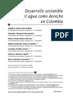 Desarrollo sostenible y el agua en colombia.pdf