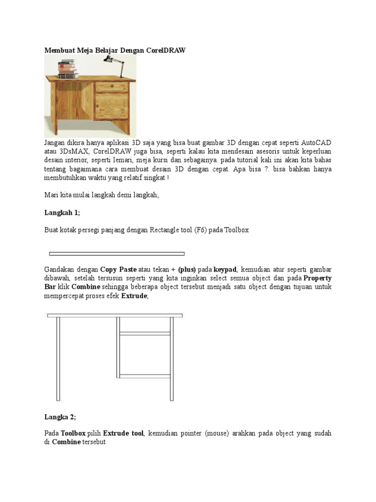 520 Koleksi Cara Gambar Kursi Dan Meja Terbaik