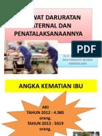 Kegawat Daruratan Maternal Dan Perinatal Dr. Suradal