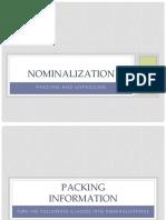 Nominalization - Practice - 18