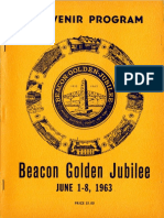 1963 Beacon Golden Jubilee Souvenir Program