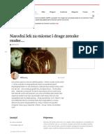 Narodni Lek Za Miome i Druge Zenske Muke... — Coolinarika (1)