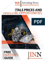 Base Metals Prices and Investing Opportunities
