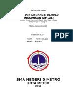 ANALISIS MENGENAI DAMPAK LINGKUNGAN (AMDAL).doc
