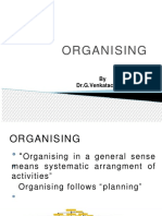 Organisational stucture