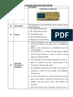 Standard Operating Procedure - Copy