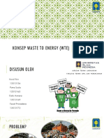 Konsep Waste to Energy
