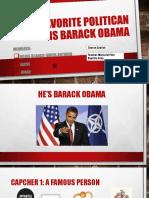 Our Favorite Politican is Barack Obama