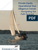 Corgentum Private Equity Operational Due Diligence Trends Study