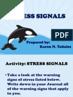 Stress Signals Activity