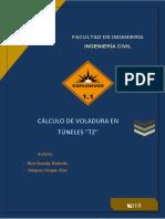 Calculo de Voladura en Túneles t2firme