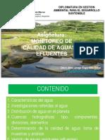 Monitoreo H2O y Efluentes