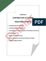 Cement Industry Economic Analysis