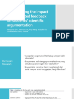 Investigating the Impact of Automated Feedback