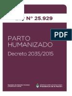 Ley 25929 Parto Humanizado