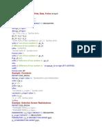 Basic Program in Abap