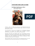 Shelter Pets Become Life Savers