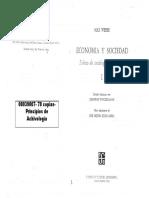 08039007 WEBER - Economia y Sociedad