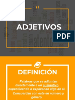 ADJETIVOS (GRAMATICA TRADICIONAL Y MODERNA )