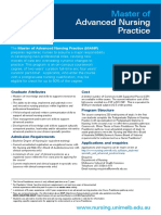 Master Advanced Nursing Practice