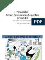 Materi+Training+Persyaratan+TPS+limbah+B3