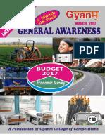 Gyanm General Awareness March 2018 English Version