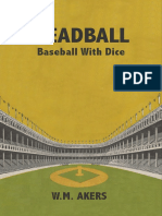 Deadball - Baseball With Dice