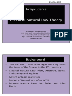 Classical Natural Law Theory