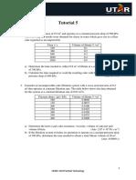 UEMK3223 Tutorial 5 - Filtration