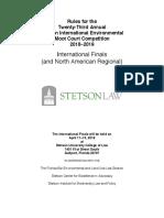 2018 2019 Iemcc International Finals Rules